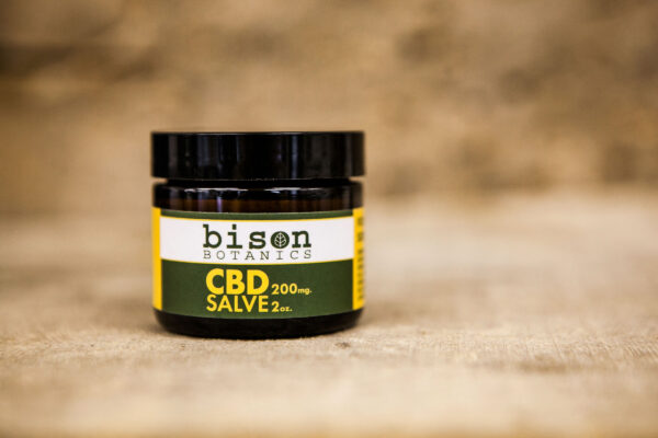 Bison Botanics' 200 milligram CBD salve.